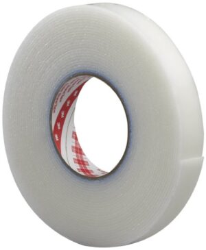 3M Extreme Sealing Tape 4412N, Translucent, 1 in x 18 yd, 80 mil, 9 rolls per case