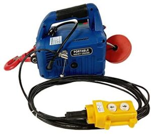 450KG(992.08lb)X7.6M 110V Wire-Controlled Electric Hoist Portable Household Electric Winch(Item Number#300184)