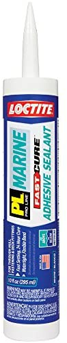 Loctite PL Marine Fast Cure Adhesive Sealant, 10.1 Ounce Cartridge (2016891)