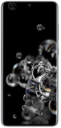 Samsung Galaxy S20 Ultra 5G Factory Unlocked New Android Cell Phone US Version, 128GB of Storage, Fingerprint ID and Facial Recognition, Long-Lasting Battery, Cosmic Gray