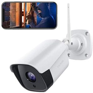 Victure Outdoor Security Camera 1080P Wireless for Home Security with IP66 Weatherproof Motion Detection Night Vision 2-Way Audio Compatible with iOS/Android System